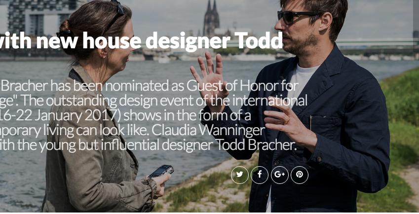 In Conversation with New House Designer Todd Bracher