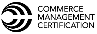 Commerce Management Certification Logo
