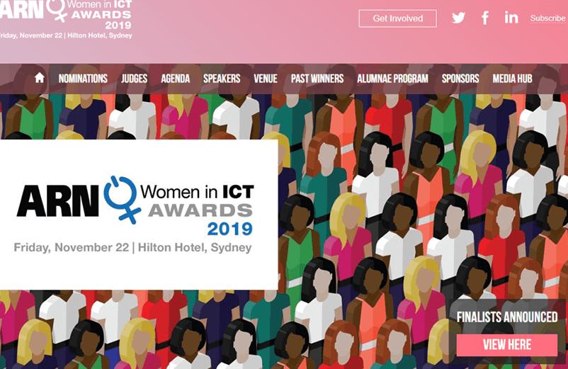 Keynoting at the ARN Women in ICT Awards 2019 on Friday