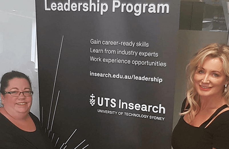 Speaking at UTS Insearch Leaders