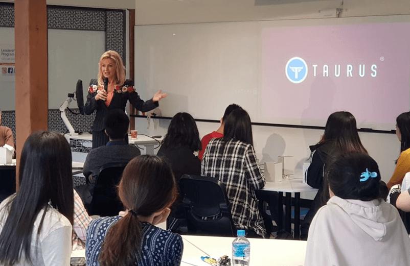 Speaking at UTS Insearch 2018 Leadership Program