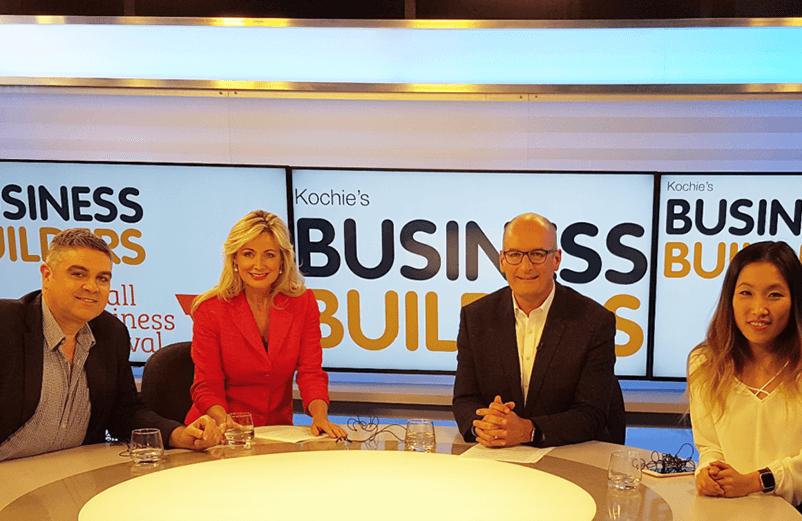 Talking Digital Marketing with Kochie at KBB Small Business Festival Victoria