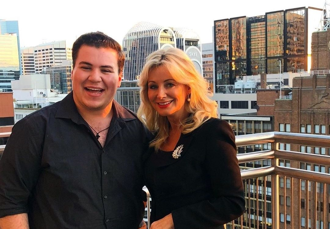 Sharon WIlliams with a Taurus alumni