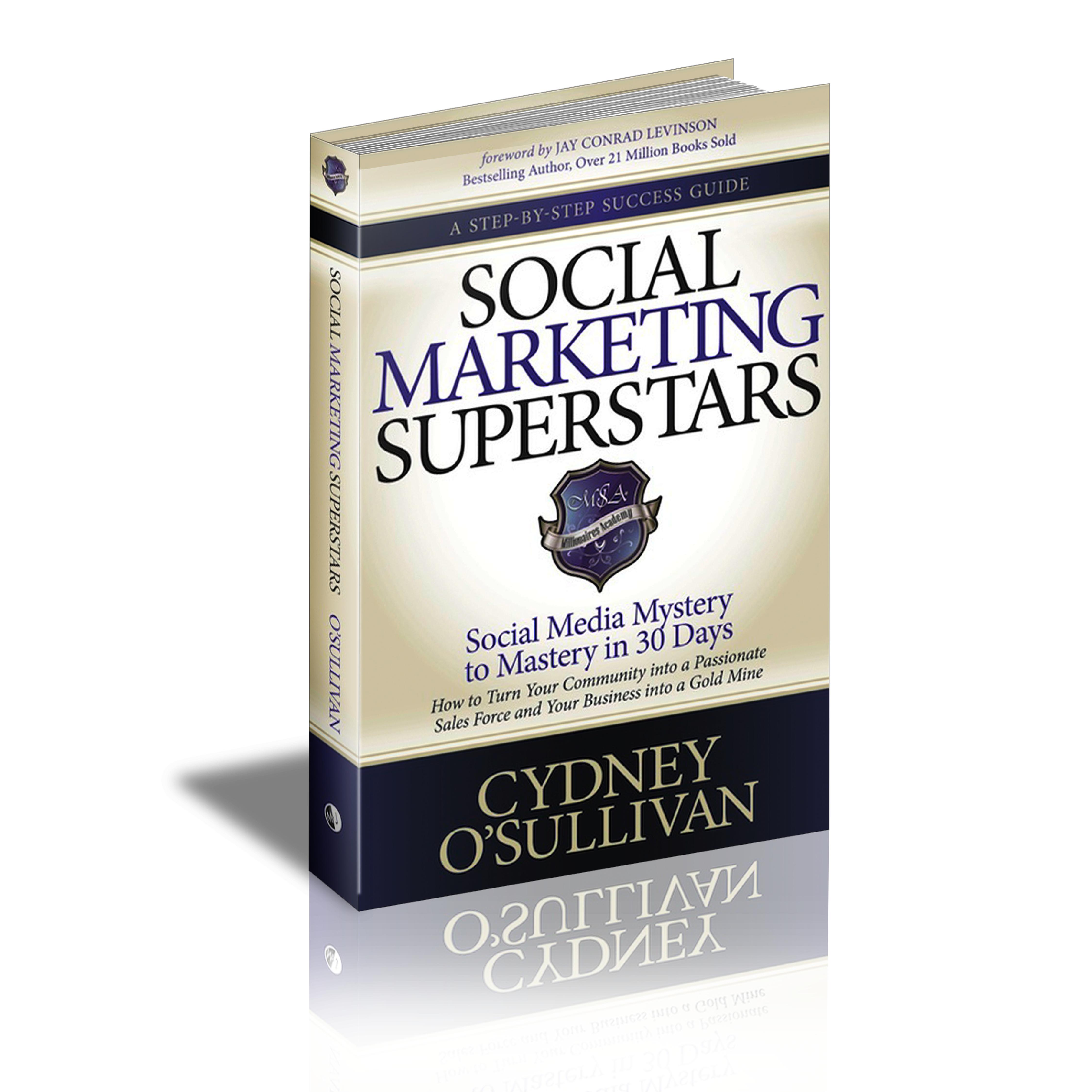 Social Marketing Superstars Book by Cydney O'Sullivan