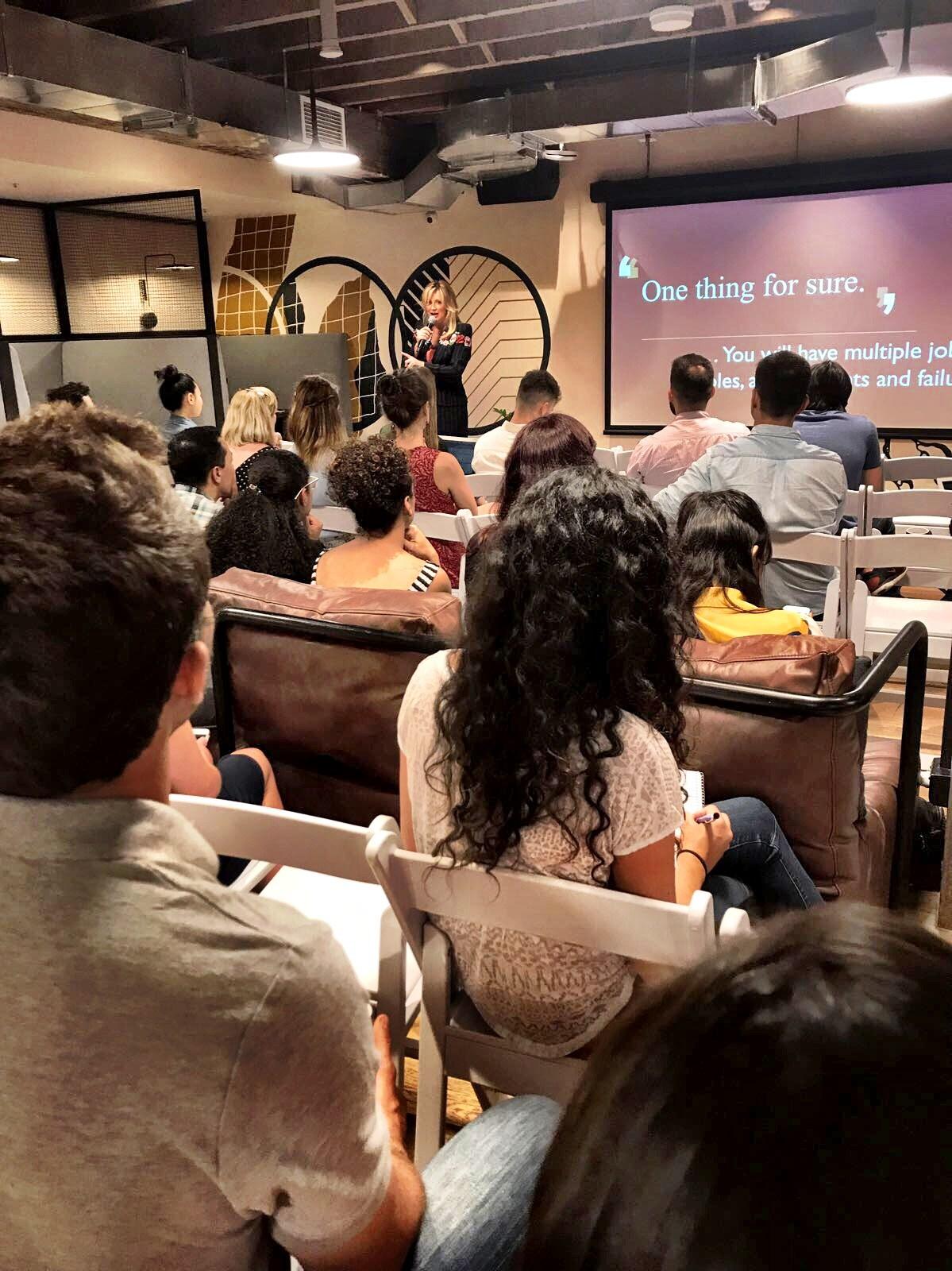 Sharon Williams speaking
