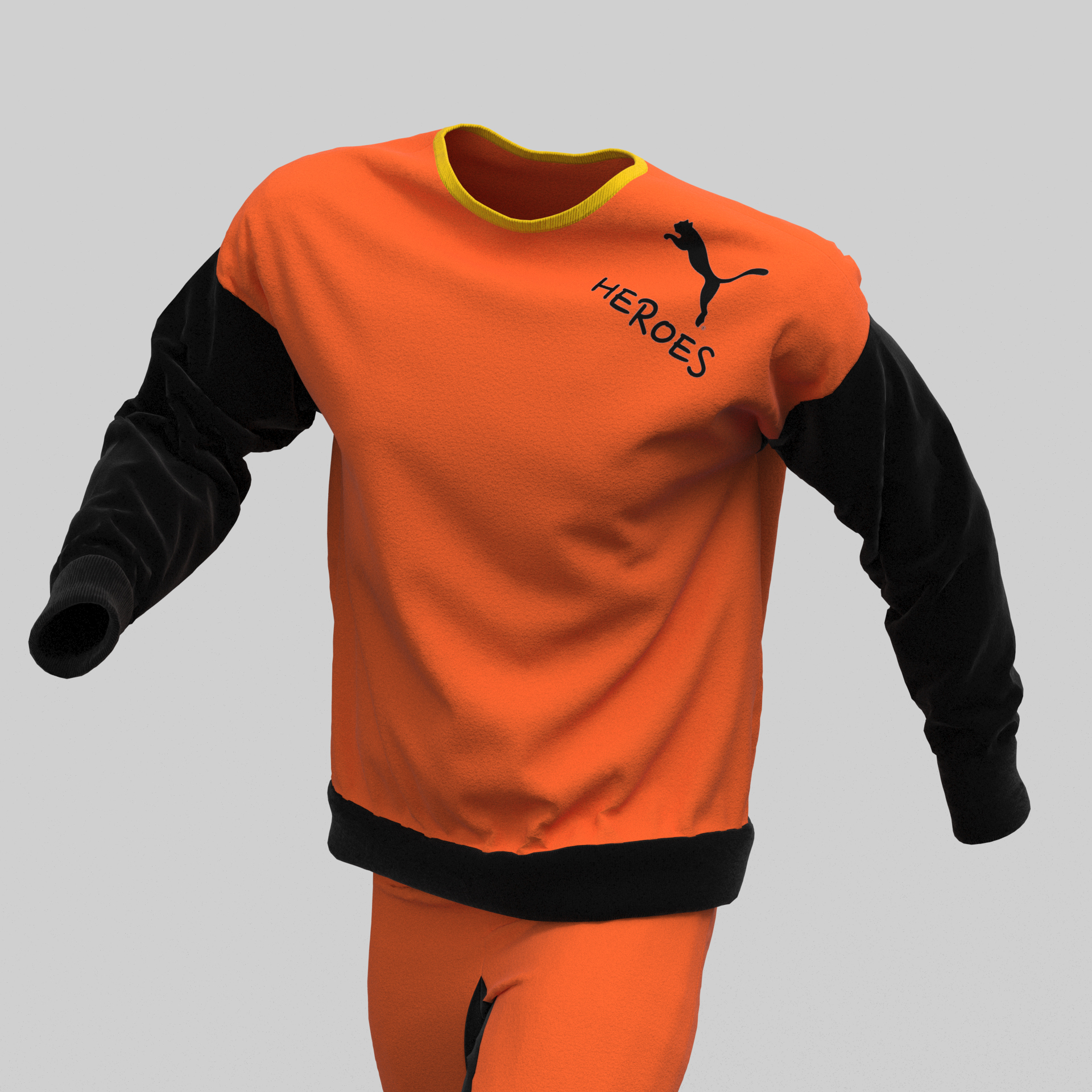 3D model oblečení