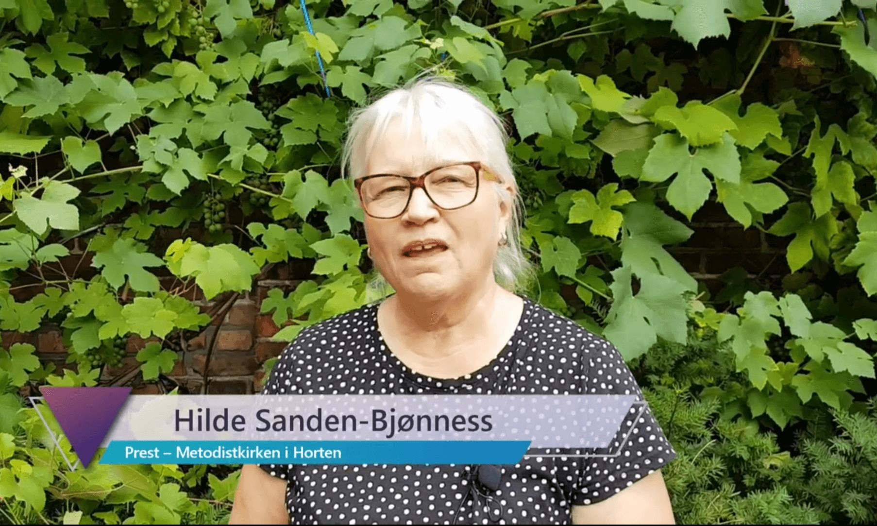 En video med Hilde Sanden-Bjønness