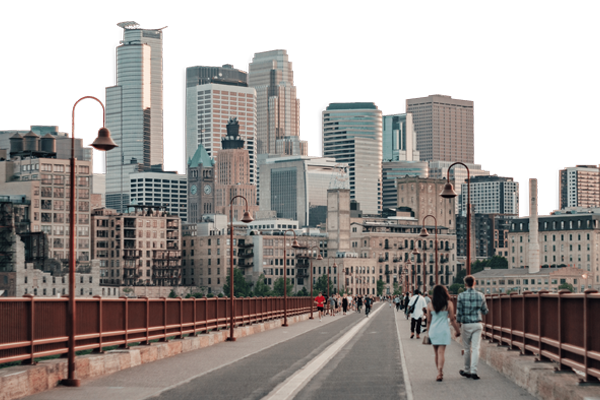 Skyline of Minneapolis