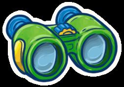 Binoculars. Follow this link emoji