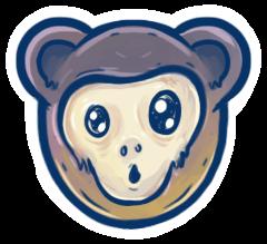 Surprised Xamarin emoji