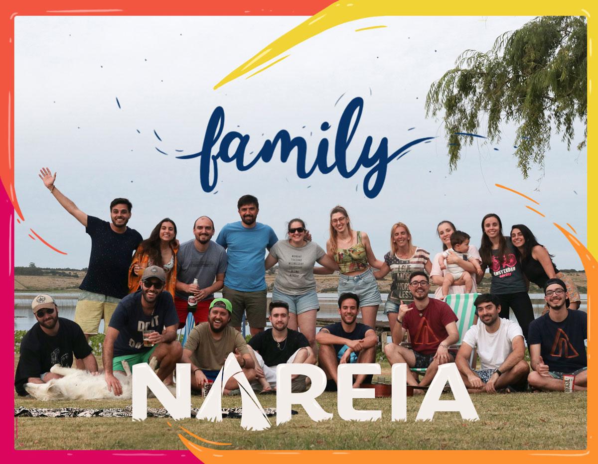 Nareia's squad. Full team.