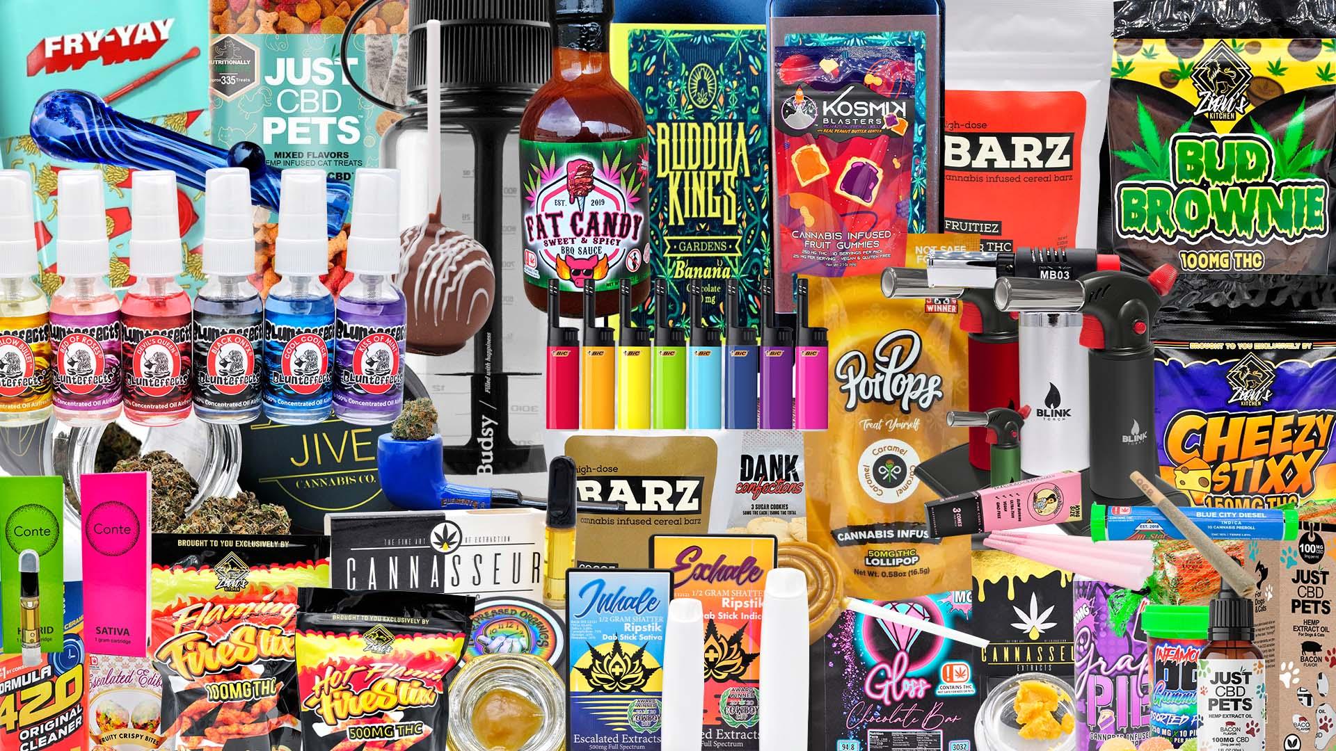 A cornucopia of FT curated brands.