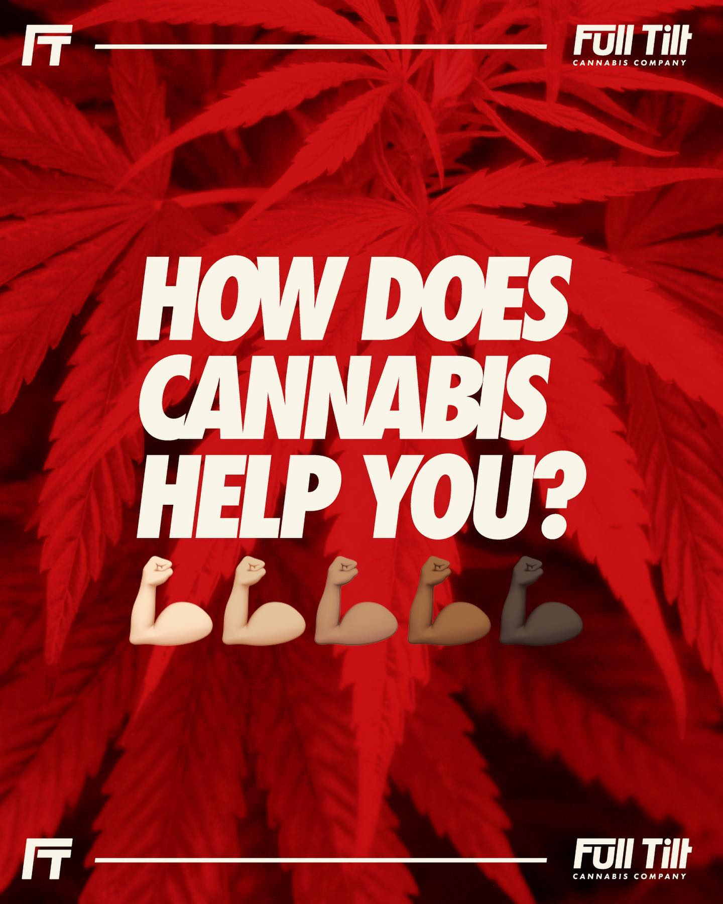 We want to know! How does cannabis improve your life?! #livefulltilt