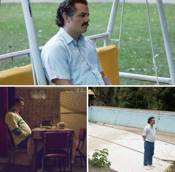 Pablo Escobar Waiting | Know Your Meme