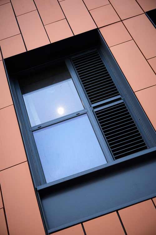 58BW Student Acommodation Window