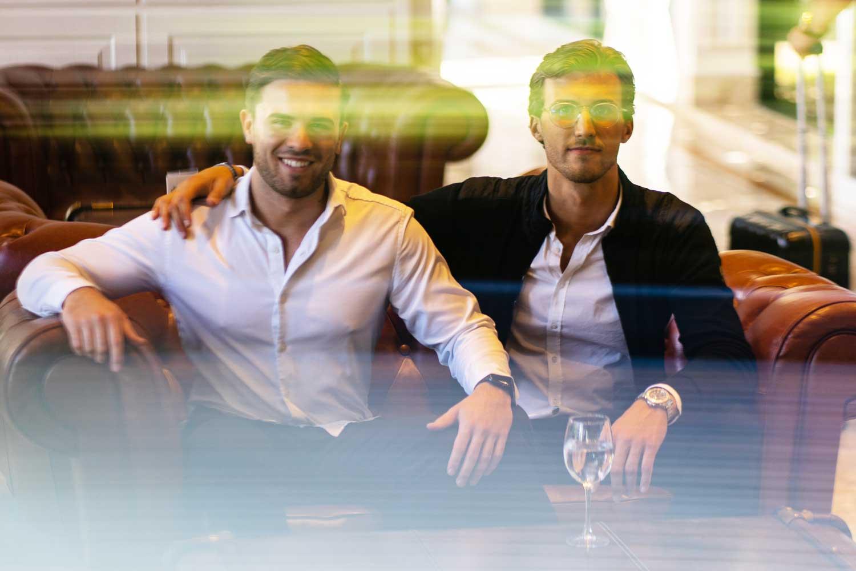 INAI Geschäftsführer Ludwig Schroedl und Tim Pascual