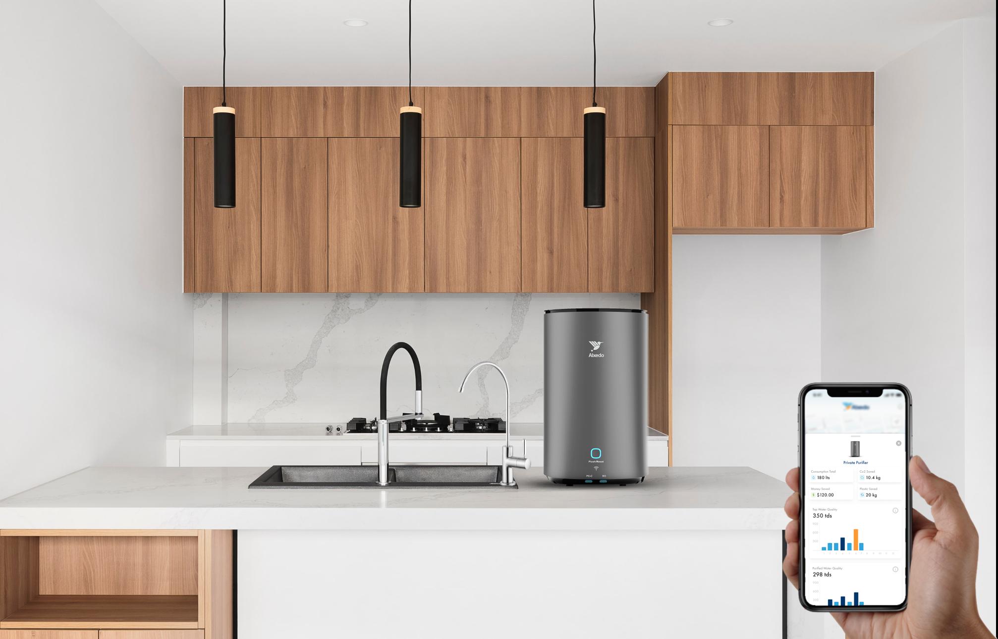 Alxedo Smart Water Purifier and App