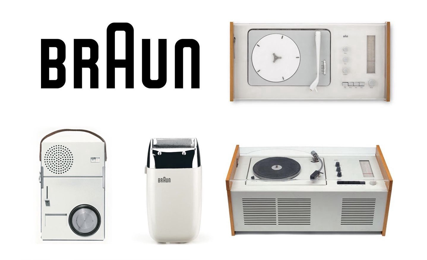 Braun Products Designed by Dieter Rams