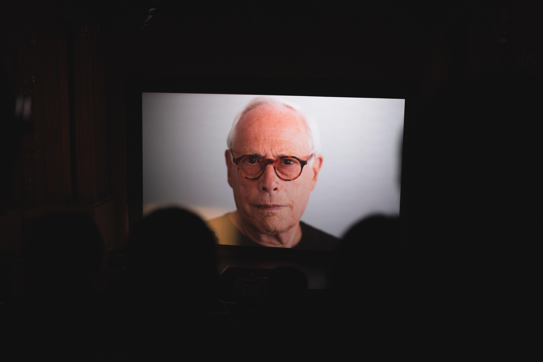 The face of the Designer Dieter Rams