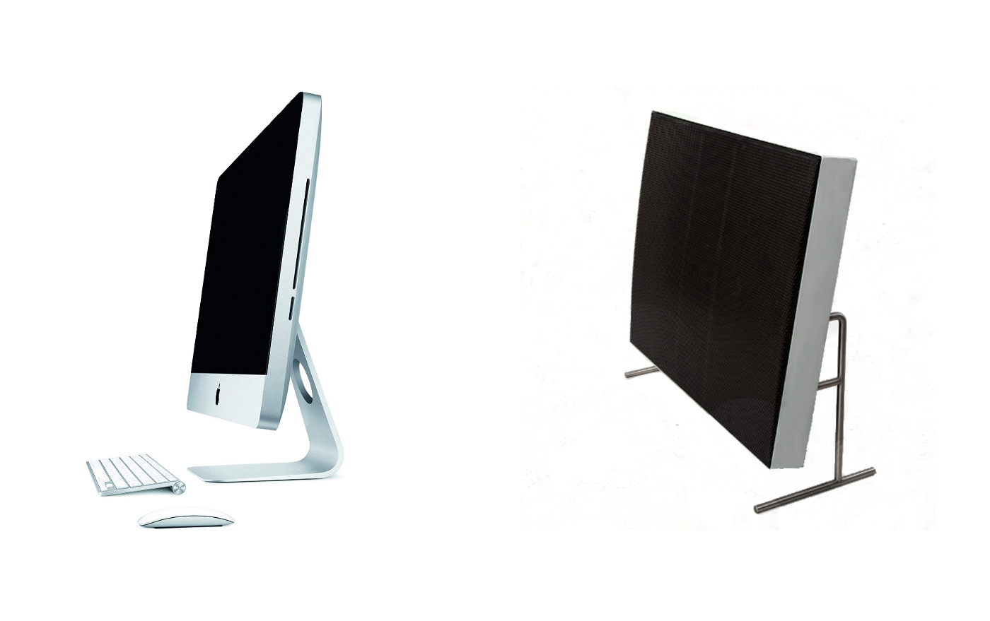 Apple iMac (2012) and Braun LE4 (1959)