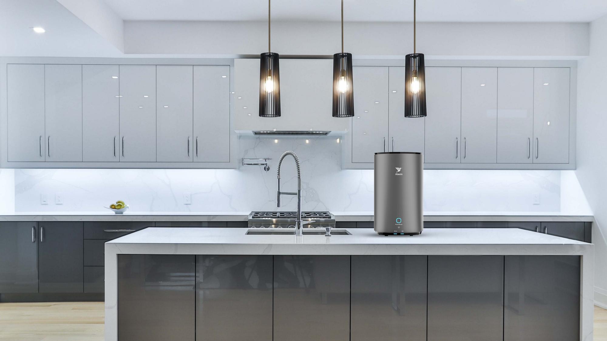 Alxedo Smart Water Purifier in Kitchen