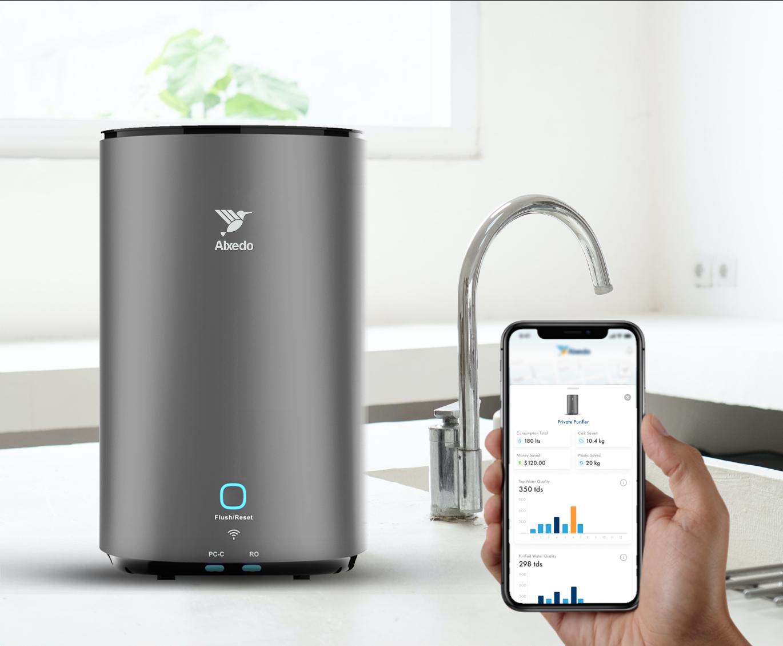 Alxedo Smart Water Purifier with App