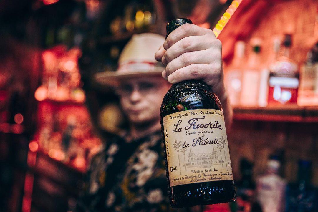 Bottle of Rhum Agricole