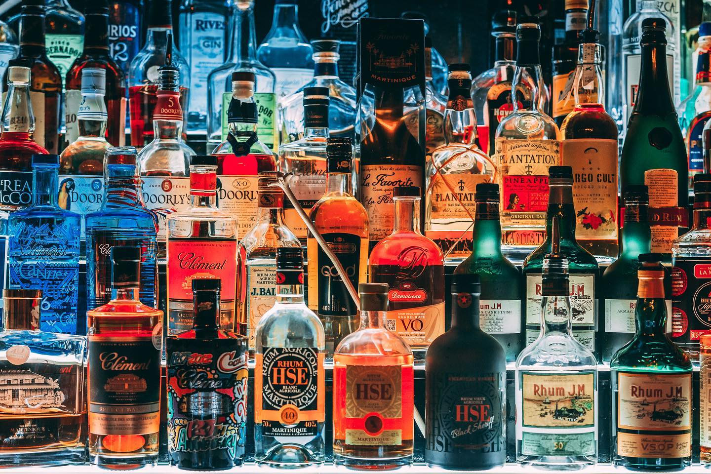 Rhum Agricole and other rums
