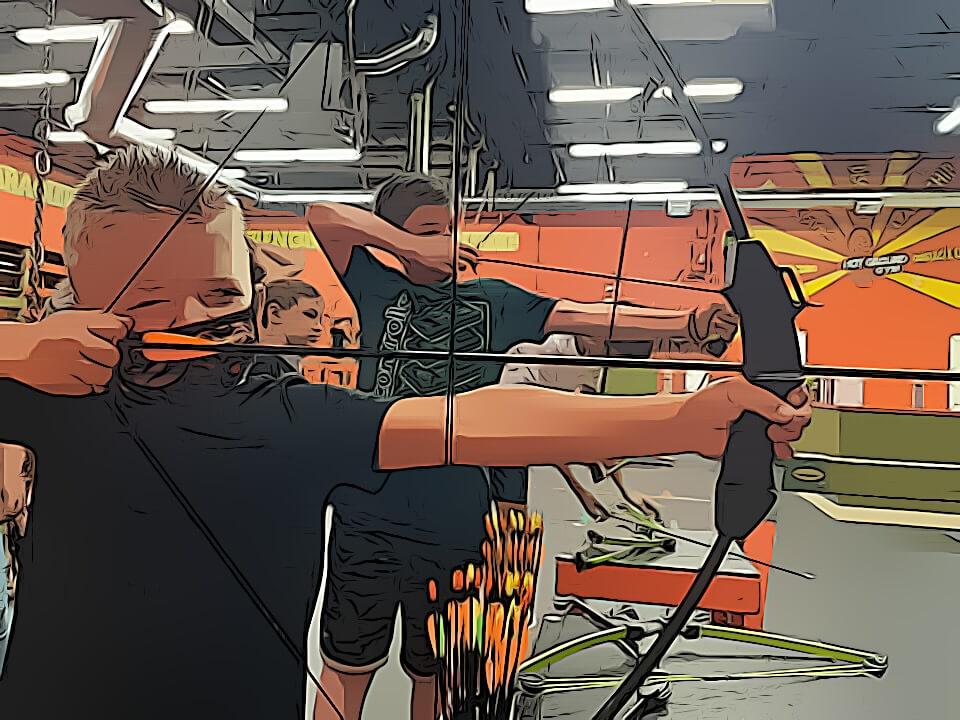 summer camp's archery