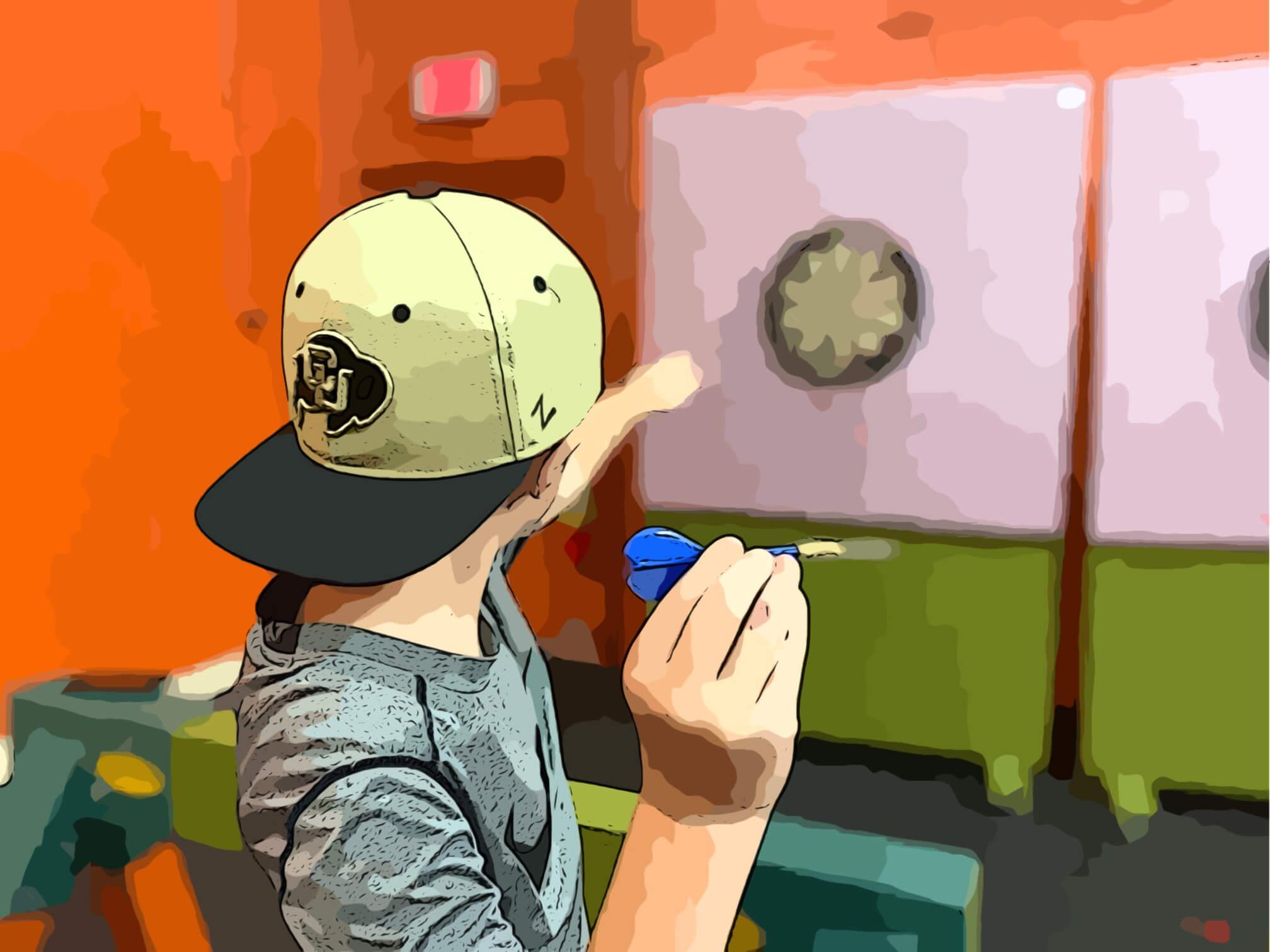 half-day dart session