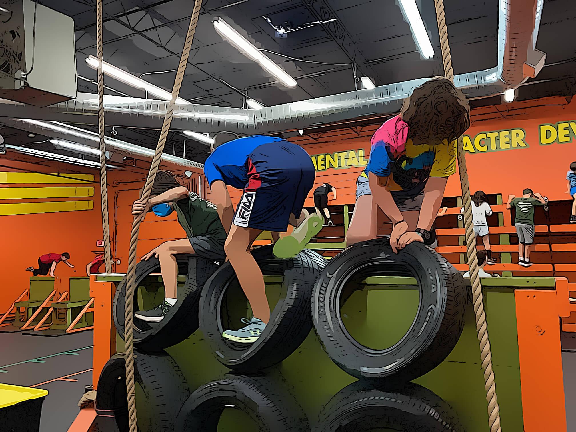 children overcome obstacles