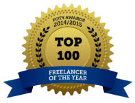 Top 100 freelancer of the year.