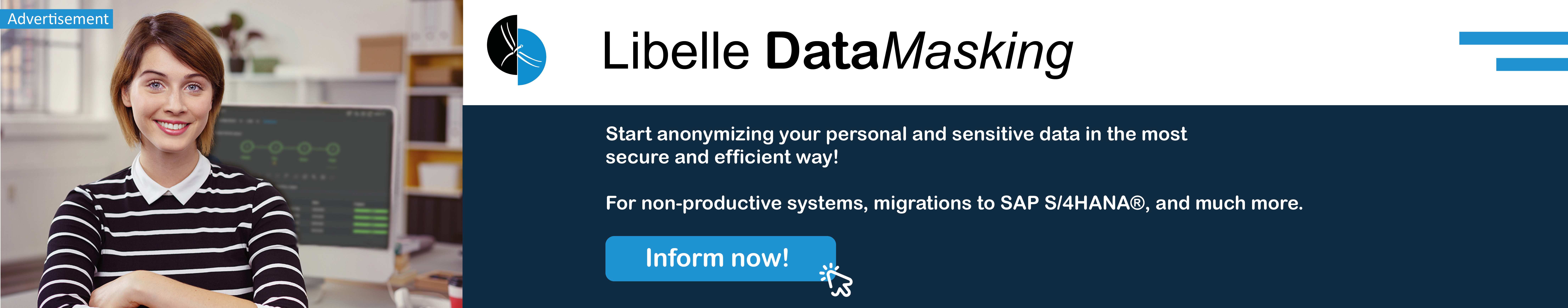 Libelle DataMasking advertisement