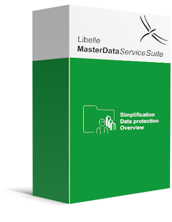 Product box of Libelle MasterDataServiceSuite