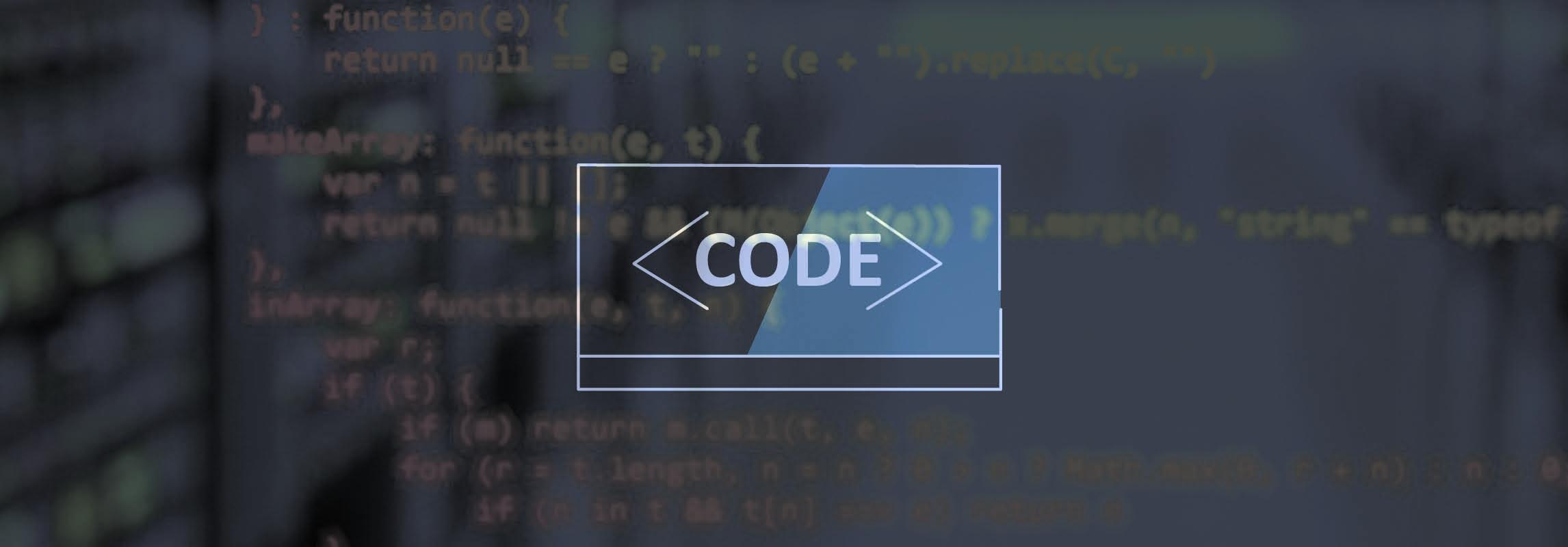 Programming language icon - task window with code