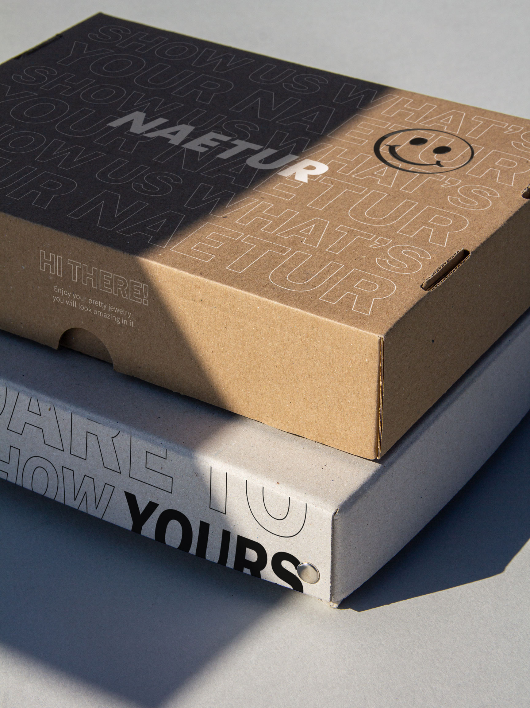 Naetur Packaging Design