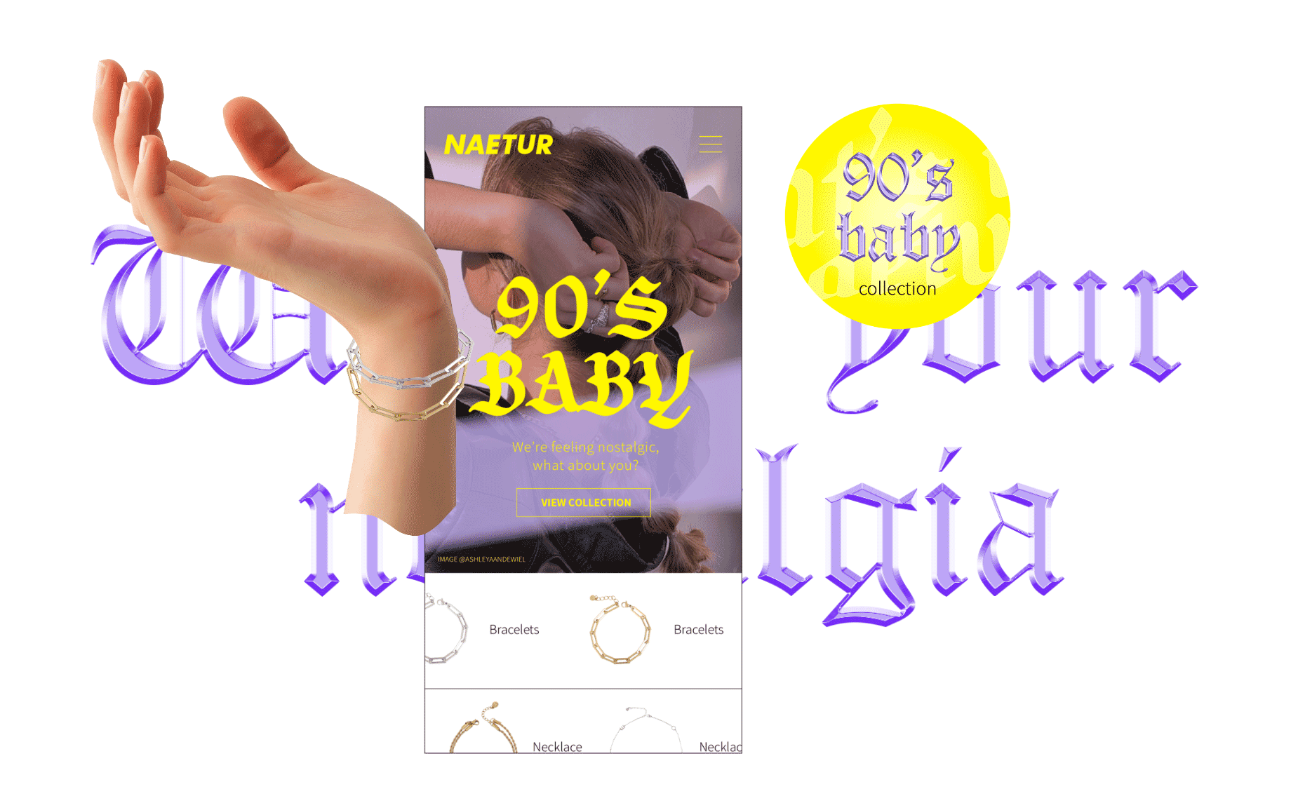 Naetur Campaign 90's Baby