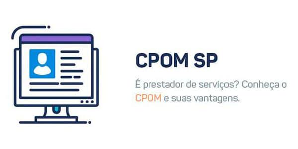 CPOM Cadastro de Prestadores de Serviços