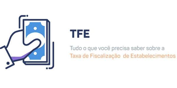 TFE - Taxa de manutenção de estabelecimentos