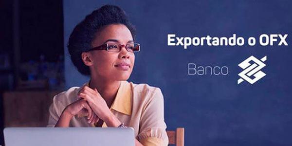 Exportando o OFX do Banco do Brasil