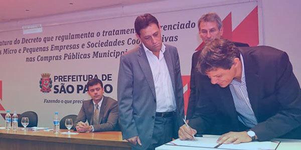 Compras de até R$ 80 mil serão feitas pela prefeitura de SP com micro e pequenas empresas