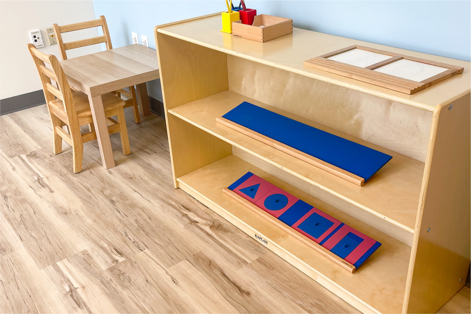 Materials for Primary Room at StoryHeights  Montessori Wrentham Campus