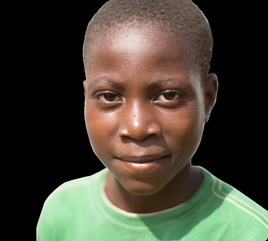Haitian child school aged