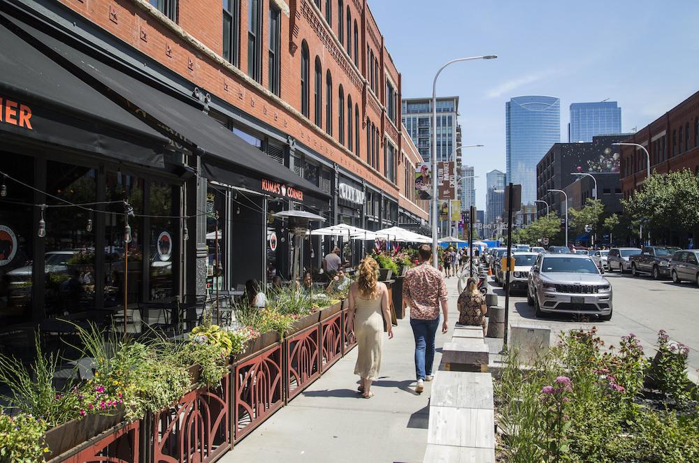 Randolph Street in Chicago's West Loop
