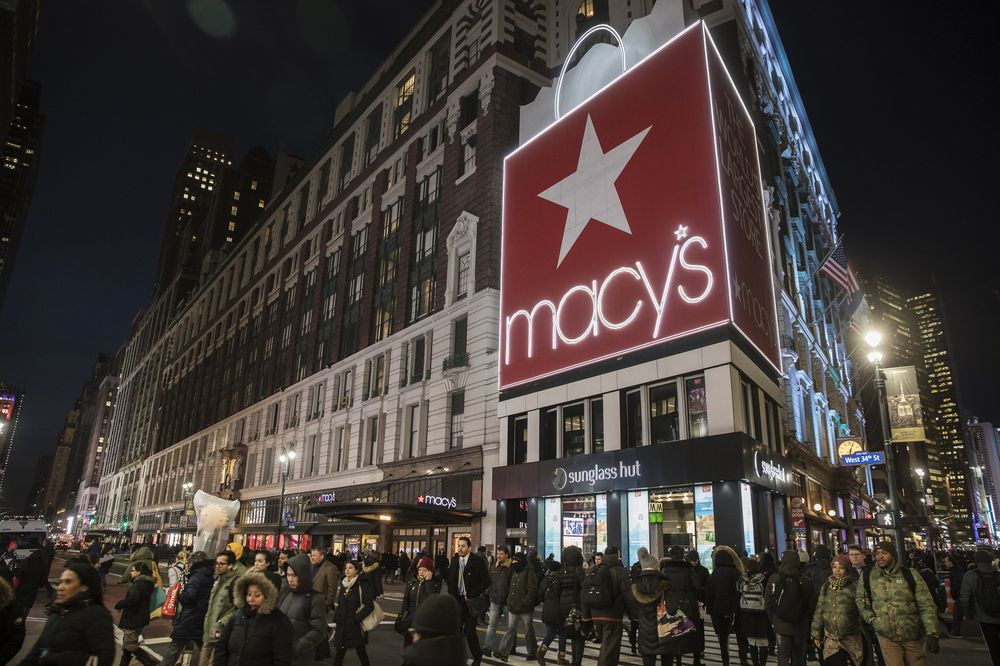 Macy's flagship store in Herald Square.
