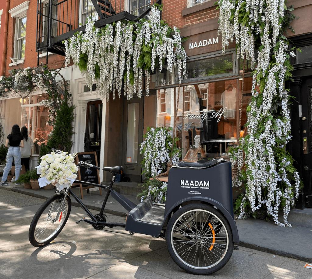 Naadam pedicab activation