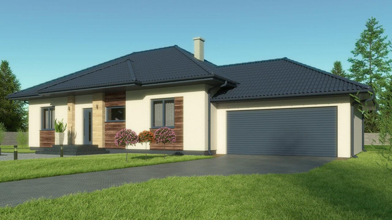 Dom parterowy MP1 ~110 m2