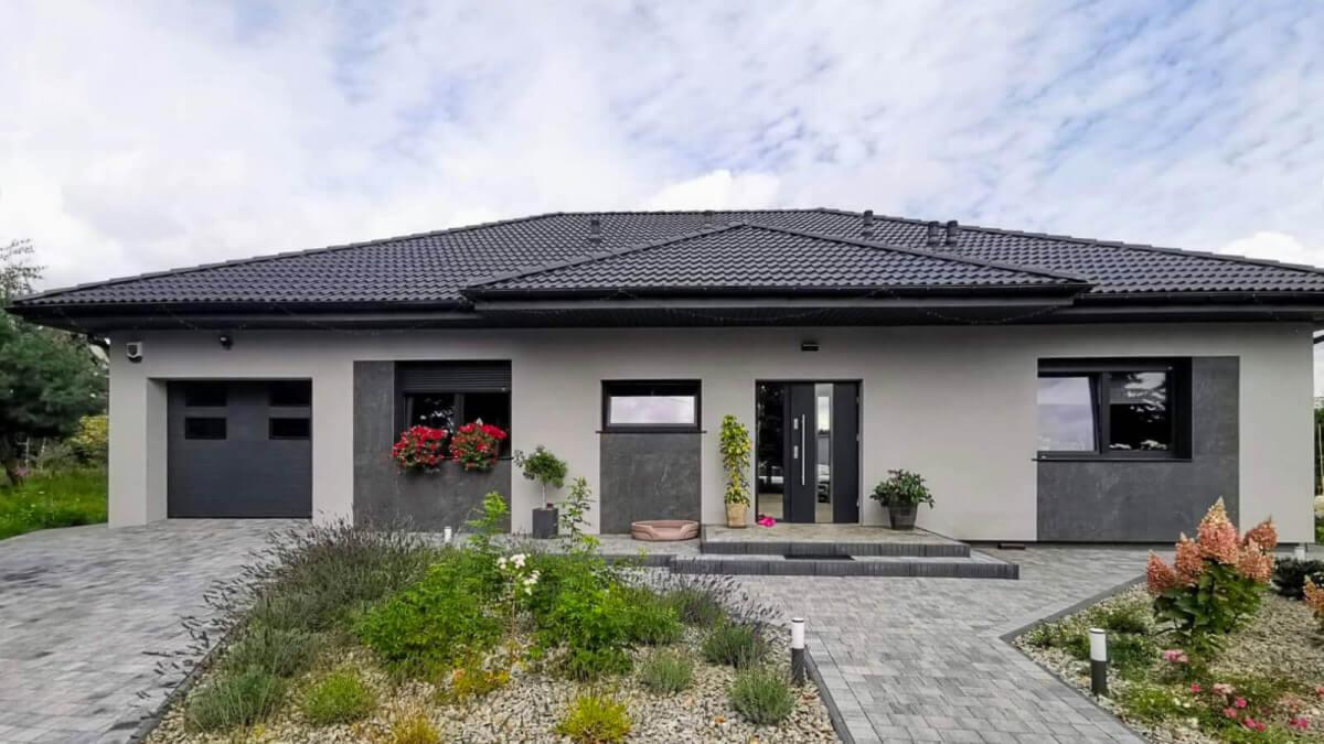 dom parterowy z keramzytu możliwy do postawienia w 2 miesiące