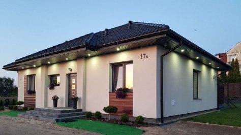 oświetlony dom parterowy mp1