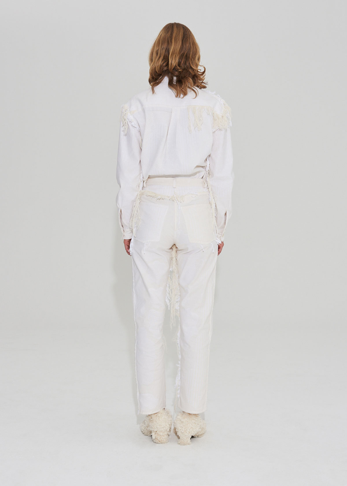 Trousers fringes on the outside - Edition 1